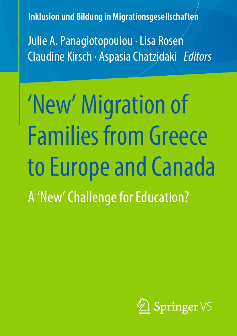 Buchcover New Migration of Families from Greece to Europe and Canada