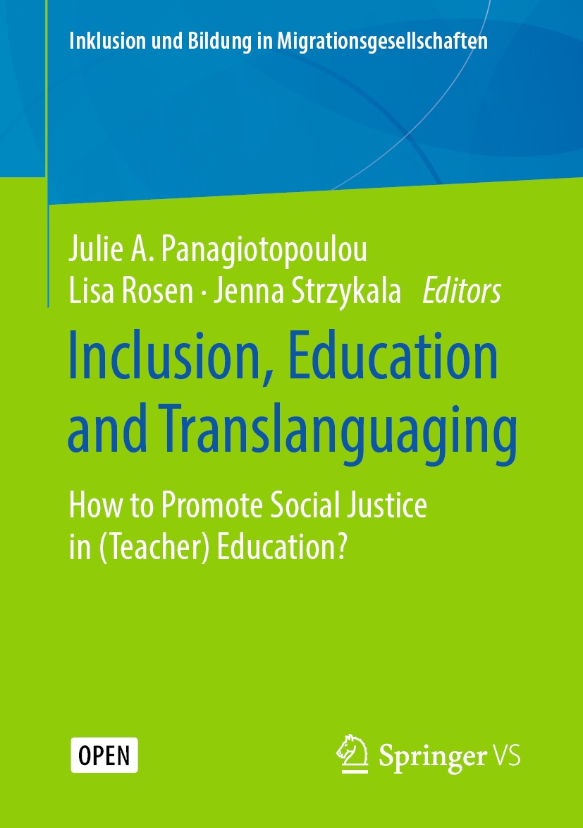Buchcover Inclusion, Education and Translanguaging